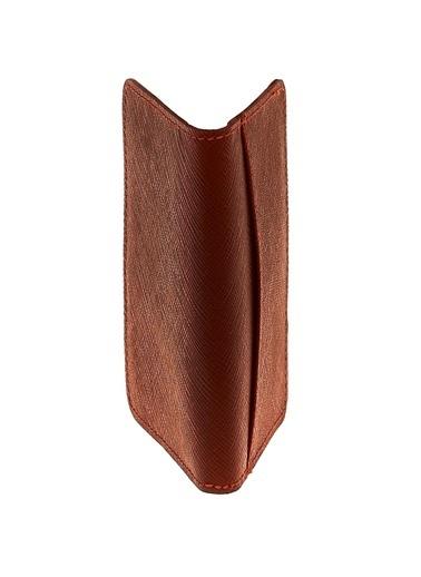 Cotton Bar Cotton Bar %100 Deri 4 Bölme Düz Şarap Erkek Kartlık Bordo